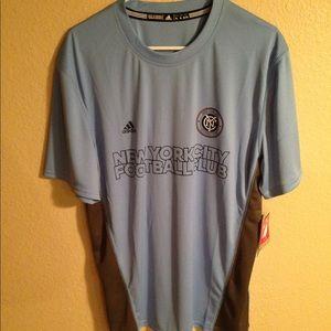 NYCFC New York City Football Club Mens XL jersey